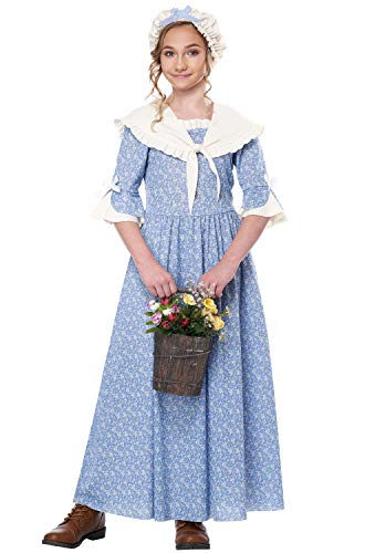 Colonial Costumes For Girls Kids - California Costumes Colonial Village Girl Child