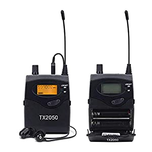 UHF Wireless in Ear Monitor System, Pro Audio SR2050 Type 2 Channel 100 Frequency with 5 receivers for Stage & Studio from EnPing TianMingSheng Electronics Business Co., Ltd.