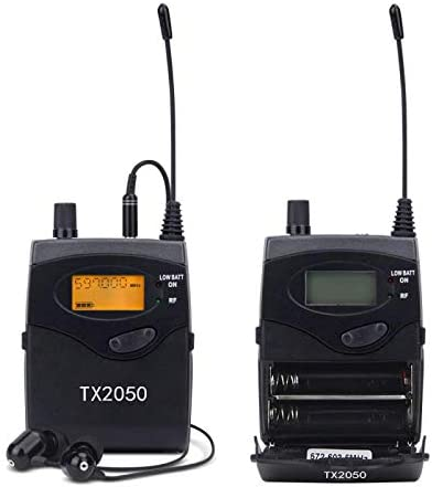 Pro Audio SR2050 Type 2 Channel 100 Frequency with 5 receivers for Stage /& Studio UHF Wireless in Ear Monitor System