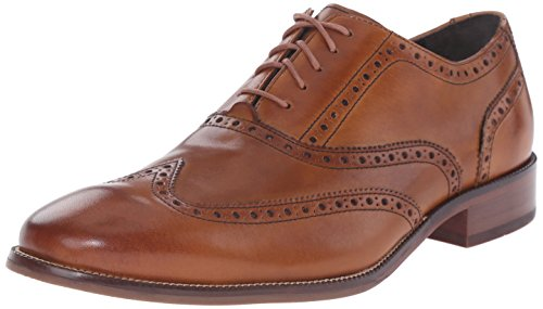 Cole Haan Men's Williams Wingtip Oxford, British Tan, 9 M US