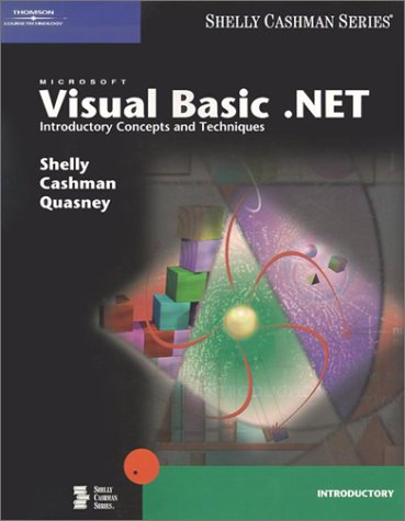 Microsoft Visual Basic . Net Introductory Concepts And Techniques