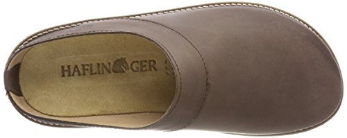 Adults' Neo Dunkelbraun 748 Brown Haflinger Clogs Unisex 48nwF