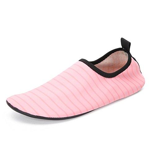 Shoes Men Beach Unisex Shoes Pink Water Women Barefoot Summer Aqua 6nr68pZx