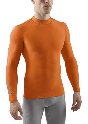SUB Sports COLD Mens Compression Shirt - Mock Neck Long Slee