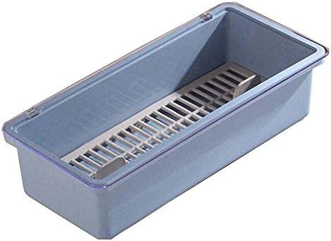 Black Temptation [Azul] útil Palillos Caja de Cubiertos Caja de Almacenamiento Cubiertos Organizador: Amazon.es: Hogar