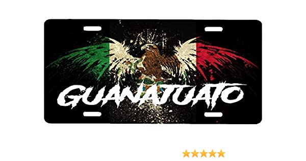 Guanajuato  Mexico Auto Novelty License Plate  placa GTO 2017