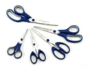 ExcelSteel 5-Piece All Purpose Scissors
