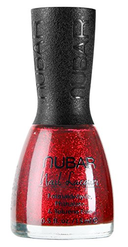 Nubar Sparkles Collection - Fire Sparkle (G181) (Red Sparkle Nail Polish compare prices)