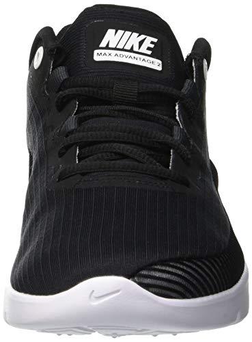 black 001 Hombre Running Max 2 Negro Advantage Nike anthracite De white Zapatillas Air Para xO8Bxwqva