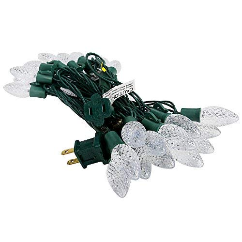 C7 Led Christmas Lights White Wire