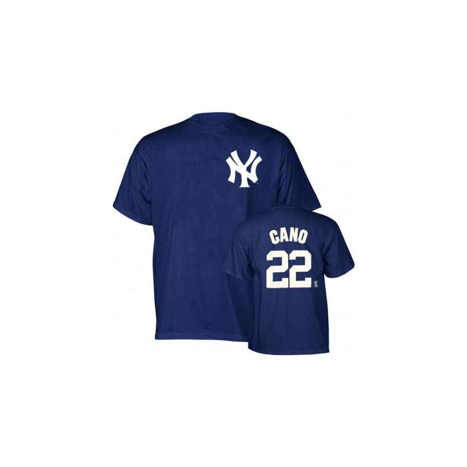Robinson Cano Majestic Name and Number New York Yankees T Shirt