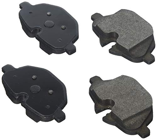 Bosch BE1473H Blue Disc Brake Pad Set with Hardware for Select 2011-16 BMW 528i, 535d, 535i, i8, X3, X4, Z4 - REAR