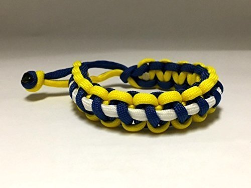 Golden State - Glow in the Dark - Mad Max Fury Road Paracord Bracelet Anklet - Adjustable