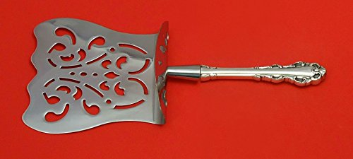 Dresden Scroll by Lunt Sterling Silver Asparagus Server Hooded Custom Made HHWS