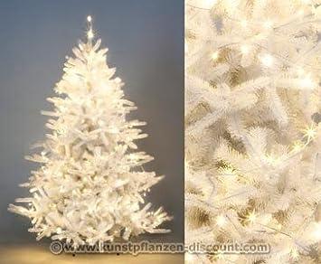 WeißEr Weihnachtsbaum Mit Beleuchtung kunstpflanzen discount.Weihnachtsbaum mit Beleuchtung weiß