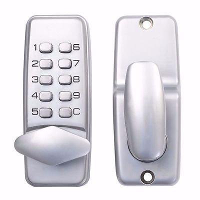 Mechanical Door Lock Keypad Deadbolt Password Keyless Entry Security System