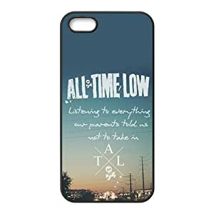All Time Low, Rubber Phone Cover Case For iPhone 4 4s, Gifts, iphone Accessories