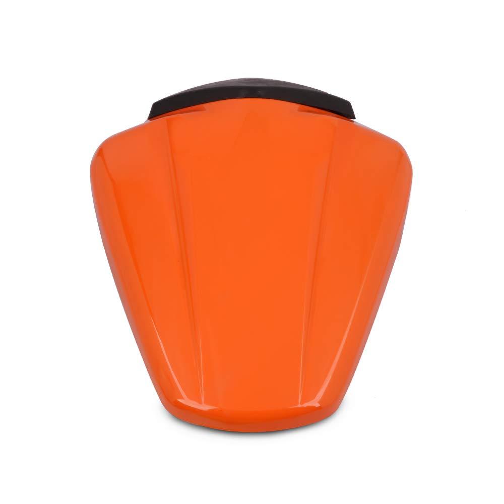 Orange JFG RACING Motorcycle Rear Seat Cowl Passenger Pillion Fairing Tail Cover For KTM 125 Duke 2011-2015,200 390 Duke 2012-2015