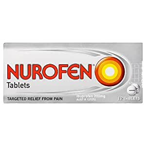 Nurofen Pain Relief Tablets 200mg (Count of 12)