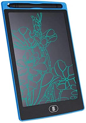 LKJASDHL 8.5インチLCD電子タブレットハイライトファインハンドライティング子供用グラフィティペインティングボード生産工場液晶ライティングタブレット (色 : 青)