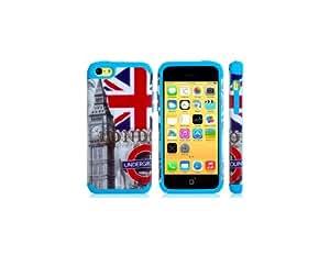 Conseguir TPU y silicona Big Ben Caso de impresión para iPhone 5C