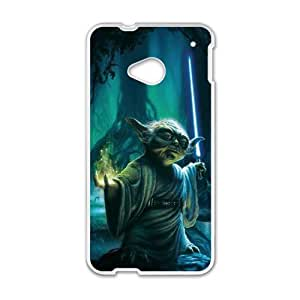 Personal Customization Star Wars Yoda Cell Phone Case for HTC One M7