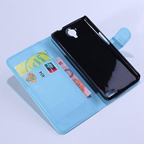 Manyip Funda Alcatel One Touch Idol OT-6030D,Caja del teléfono del cuero,Protector de Pantalla de Slim Case Estilo Billetera con Ranuras para Tarjetas, Soporte Plegable, Cierre Magnético(JFC1-2) C