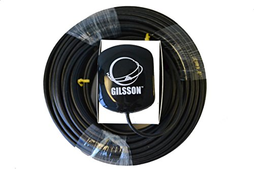 Gilsson 28dB High Gain GPS Antenna for Verizon 4G LTE eFemto SLS-BU1023, SLS-BU102 Network Extender with 150FT Low Loss Cable (3G Network Extender Antenna Is Available! Please Email Us for Detail)