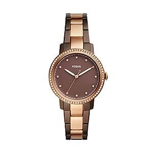 Fossil Women's ES4300 Neely Analog Quartz Brown Watch