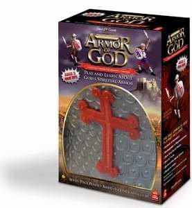 Playset Full Armor Of God-6 Pc-Gry/Red (Boys)