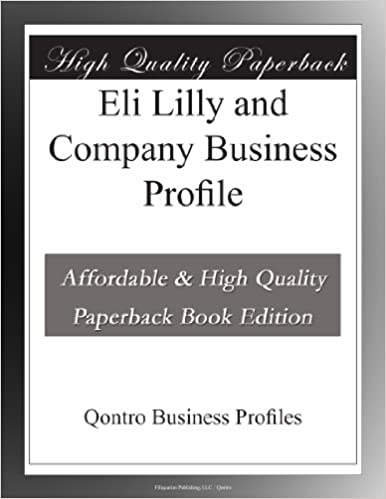 Eli Lilly and Company Business Profile: Qontro Business