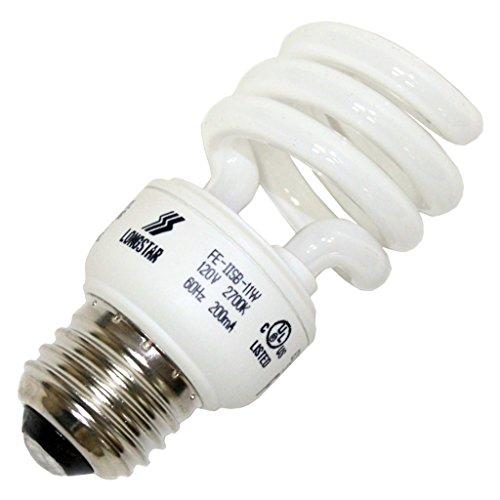 Long Star 11W Warm White CFL Bulb, E26 Base