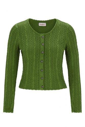Strickjacke grün Liz Größe 38