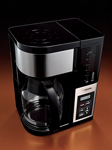Zojirushi EC-YGC120 Fresh Brew Plus 12-Cup Coffee Maker, Stainless Black 11street Malaysia ...