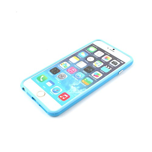 Iphone 6/6s Silicon Bumper Baby Blue by G4GADGET®
