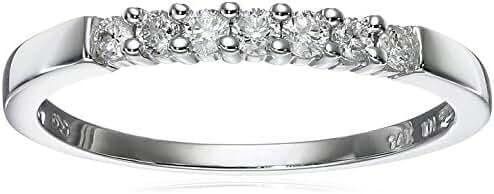 14k Gold 7-Stone Diamond Ring (1/4 cttw, H-I Color, I1-I2 Clarity)