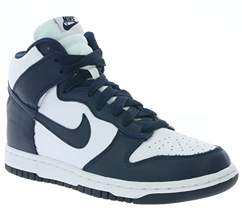 Nike Damen Wmns Dunk Retro QS Turnschuhe Weiß (White / Midnight Navy)
