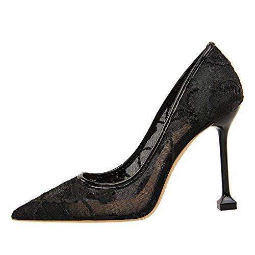 Miyooparkuk 1 Miyoopark Femme Sandales Noir ds17175 Compensées qSxwf