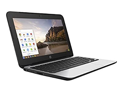 "HP 11.6"" Chromebook 11 G4, 4 GB RAM, 16 GB SSD, Intel HD Graphics, Black (P0B78UT#ABA)"
