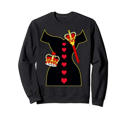 Queen Dress Costume Sweatshirt