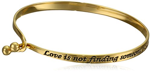 Sterling-Silver-Love-Is-Finding-Someone-You-Cant-Live-Without-Sentiment-Catch-Bangle-Bracelet-7