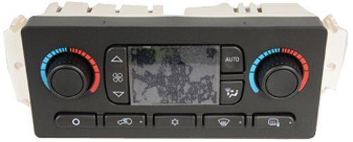 ACDelco 15-73566 GM Original Equipment Heating and Air Conditioning Control Panel with Rear Window Defogger Switch -