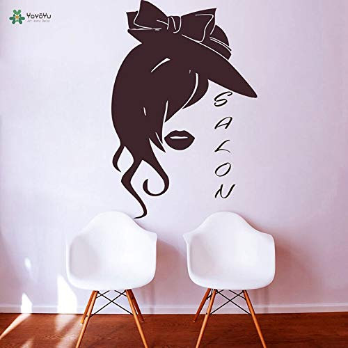 Amazon.com: Vinyle Sticker Cheveux Beauté Coiffure Salon Styliste ...