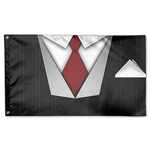 YUANSHAN Home Garden Flag Handsome Necktie Polyester Flag Indoor/Outdoor Wall Banners Decorative Flag Garden Flag 3