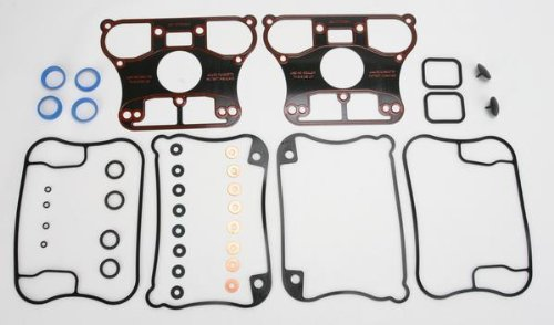 James Gasket Rocker Box Gasket Kit - Rubber with Metal Base 17030-91-X