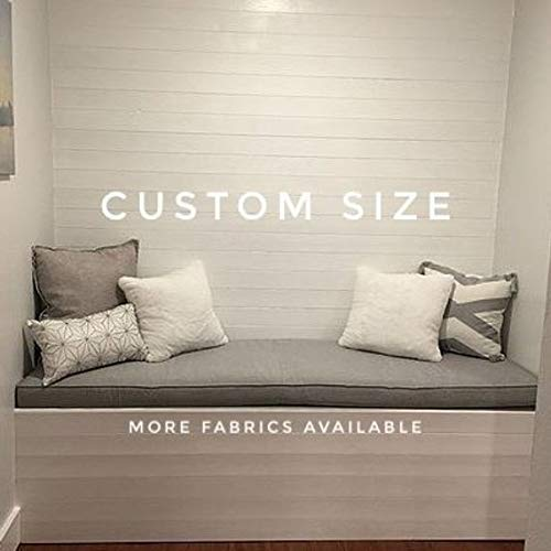 Incredible Amazon Com Custom Size Window Seat Bench Cushion Handmade Ibusinesslaw Wood Chair Design Ideas Ibusinesslaworg