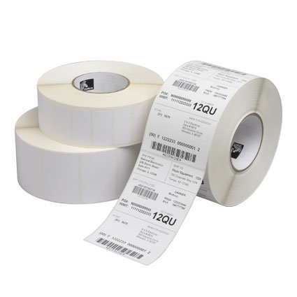 Label Paper 1.25 X 1 Dt 2000D Value Coated All Temp 6/Case (Part#: 10015784 ) - NEW by ZEBRA - MEDIA Zebra Parts Media