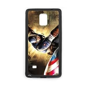 Samsung galaxy note 4 N9100 Captain America 2 Phone Back Case Art Print Design Hard Shell Protection HG092045
