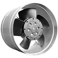 Kleinmetall ofenventilator Canal Ventilateur warmluftverteiler jusqu'à 80 °C Cheminée Turbine Ventilateur Whisper DN 125–100 m3/h.