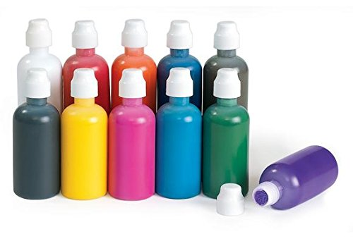 Colorations Simply Washable Tempera Painters - Set of 11 (Item # PAINTER)